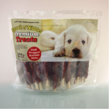 Alpha Dog Series Duck Wrapped Rawhide Sticks, 16 oz, 2 Pack - $42.99