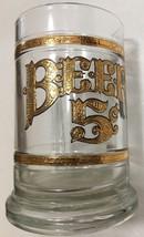 Vintage Culver 22K Embossed Gold Mug/Stein- 5¢ Beer Old Fashioned - $12.86