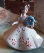 Vintage Josef December Flower Girl EUC - $15.99
