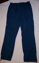 Cherokee Scrubs Bottoms M Tall Pants Caribb EAN Blue Medium Carw 4005T Cotton - $14.97