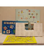 VINTAGE 1958 SELCHOW RIGHTER SCRABBLE JUNIOR BOARD GAME - $13.85
