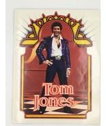 Tom Jones 1980 Concert Program Sexy Photos Muhammad Ali Manilow Souvenir... - $29.95