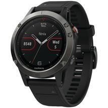 Garmin Fenix 5 47mm Multisport Gps Watch (slate Gray With Black Band) GRM0168800 - $815.41