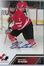 2013 Upper Deck Team Canada Signatures Brayden Mc Nabb #16 (B7) - $5.79