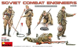 Miniart Models - 35091 - Soviet Combat Engineers - 1/35 - $16.99