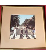 Rare Beatles Alternate Abbey Road Cover Print Professionally Framed and ... - $49.00