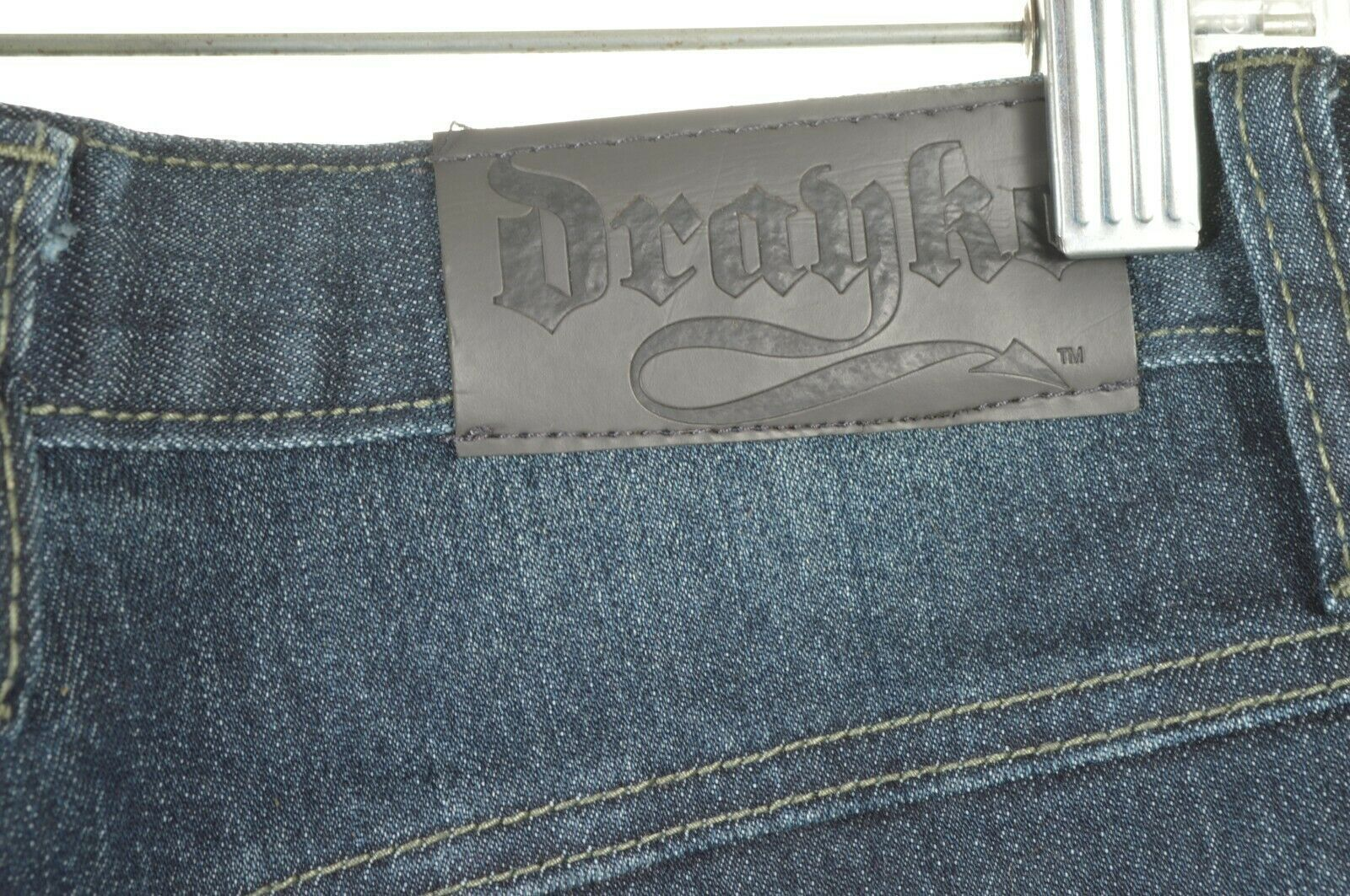 Drayko Jeans Mens 30 x 37 Motorcycle Riding extra long padded - Slightly Used image 5