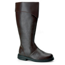 "FUNTASMA Captain-105 Series 1 "" Heel Boots - Brown Pu - $67.95"