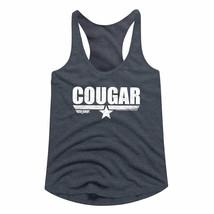 Top Gun Cougar Fighter Pilot Callsign Women's Racerback Tank Top Bill Co... - $23.50