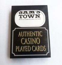 Sams Town Authentic Played Casino Playing Cards Las Vegas Gambling Hall ... - $3.84