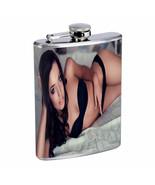 Ukraine Pin Up Girls D6 Flask 8oz Stainless Steel Hip Drinking Whiskey - $13.81