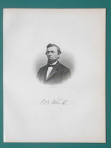 AUSTIN B. WITHERBEE Mayor City of Flint Michigan - 1878 Antique Print - $19.80