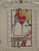 Sisters Sealed Embroidery Kit 12x16 Designs For The Needle Hometown Coll... - $17.95