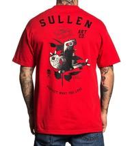 Sullen Kunst Collective Kleidung Love Machine Tattooed Pistole Urban T-S... - $31.36+