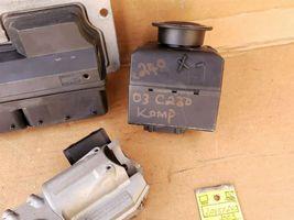 03 Mercedes W203 C240 ECU Engine Computer EIS Ignition FOB ISL Set A1121532979 image 4