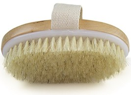 Dry Skin Body Brush - Improves Skin's Health and Beauty - Natural Bristle - Remo