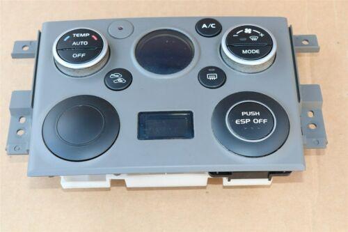 06 Suzuki Grand Vitara Air AC Heater Climate Control Panel 39510-65JP0-CAU