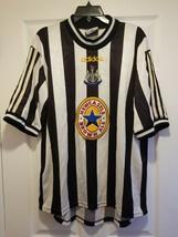 ADIDAS NEWCASTLE UNITED 1997 1999  FOOTBALL SOCCER HOME JERSEY SHIRT ADU... - $38.61