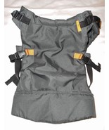 Infantino Union Ergonomic Baby Carrier Dark Grey Buckles Front Back - $26.61