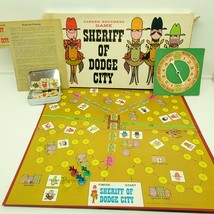 Sheriff of Dodge City 1966 Parker Brothers Board Game COMPLETE - $29.70