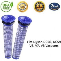 [Washable] 2 Pack Filters For Dyson Vacuums, Replacement Filter For Dys... - $36.98