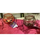 Spider Candleholders 4.75x4 in Choose 1 From 2 Colors Black or Yellow - $4.00