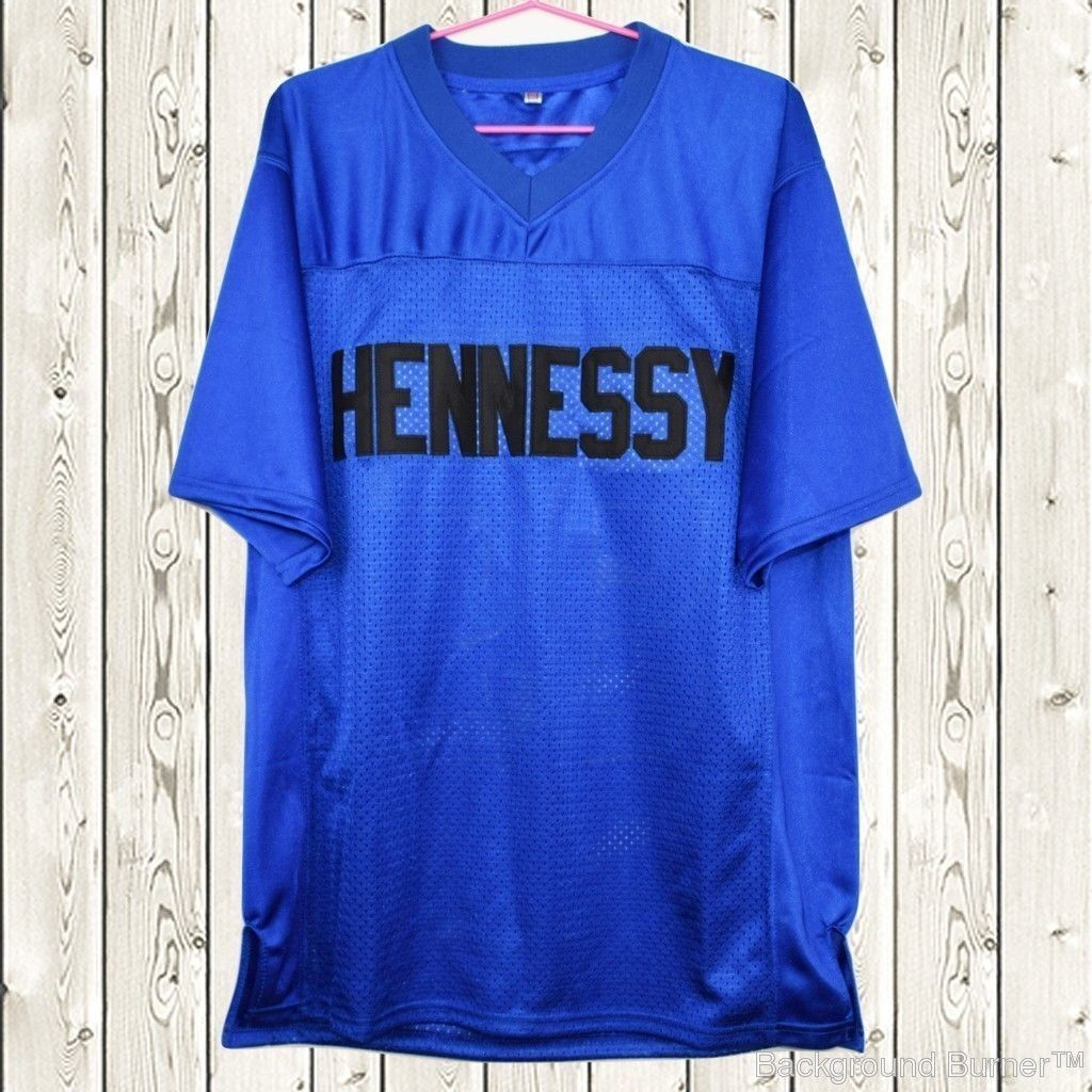 b1dae9c12c9 S l1600. S l1600. Previous. Prodigy #95 Hennessy Queens Bridge Movie  Stitched Football Jersey Blue NWT