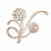 Jewelry Accessory for Women Set of 2 Alloys Vintage Jewelry Pins Floral ... - €9,96 EUR