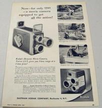 1957 Print Ad Kodak Brownie Movie Cameras Fishing Scenes Eastman Rochester,NY - $11.43