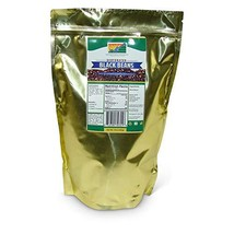 Mother Earth Products Dehydrated Black Beans, Quart Mylar, 17 Ounce - $25.71