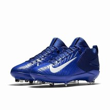 Nike Mike Trout 3 Pro Racer Blue Mens Size 12 Metal Baseball Cleats 856498 447 - $49.95