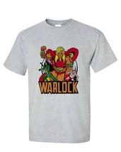 Adam Warlock T shirt retro 1970s Marvel comics gray blend graphic tee Pip Gamora image 2