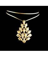 """Vintage  Trifari Necklace - couture Monet 24"""" chain  -  designer Christm... - $125.00"""