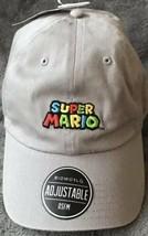 Nintendo Super Mario Official Adjustable Strapback Dad Hat Cap - $19.31