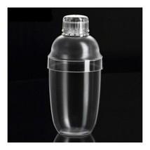 PC Resin Wine Milk Tea Hand Martini Shaker Cup Pot 530cc Cocktail  bar - $14.84