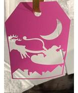 Santa Clause Pink Christmas Decoration - $1.00