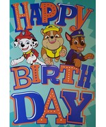 "PAW Patrol Greeting Card Birthday ""Happy Birthday Day"" - $3.89"