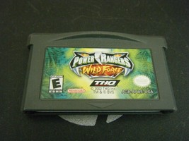 Power Rangers: Wild Force (Nintendo Game Boy Advance, 2002) - Game Only!! - $4.94