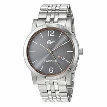 Lacoste Metro Stainless-steel 2010927 Grey Dial Men's 42-mm Quartz Watch - $210.38
