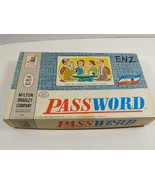 VTG 1962 MB Milton Bradley Company Password Board Card Volume 2 Game - $23.76