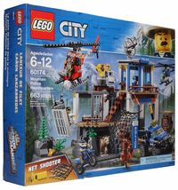 LEGO City Mountain Police Headquarters Building Play Set 60174 [New] - $85.55