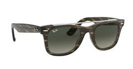 Ray Ban Wayfarer RB4540 641471 Brown Light Green Sunglasses 50mm - $116.40