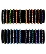 Roped Friendship Bracelets Pack of 50 Units Gifts Schools Teams Wholesal... - $28.66