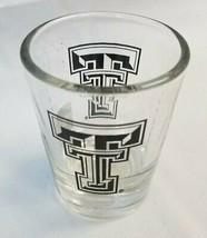 Texas Tech Red Raiders NCAA 2 oz. Shot Glass Clear & Black (Free Shipping) - $11.13