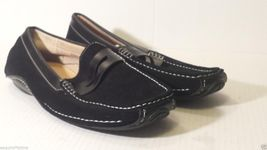 Moccasins Black Size York Suede 5 Men New Driving MASIMO 8 Leather Cq4TRn06