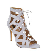 G.I.L.I. Lace-up Cut Out Heel Sandals - Floriana Lilac 11 M - £34.01 GBP