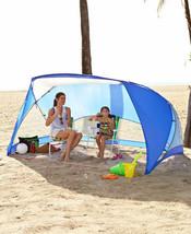 Sun Shade Tent Canopy Cabana 9' x 6' Portable UV SPF 50 Camping Fishing ... - $56.73 CAD