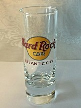 """Hard Rock Cafe Atlantic City 4"""" Shot Glass - Collector's Item! Save The Planet - $5.95"""