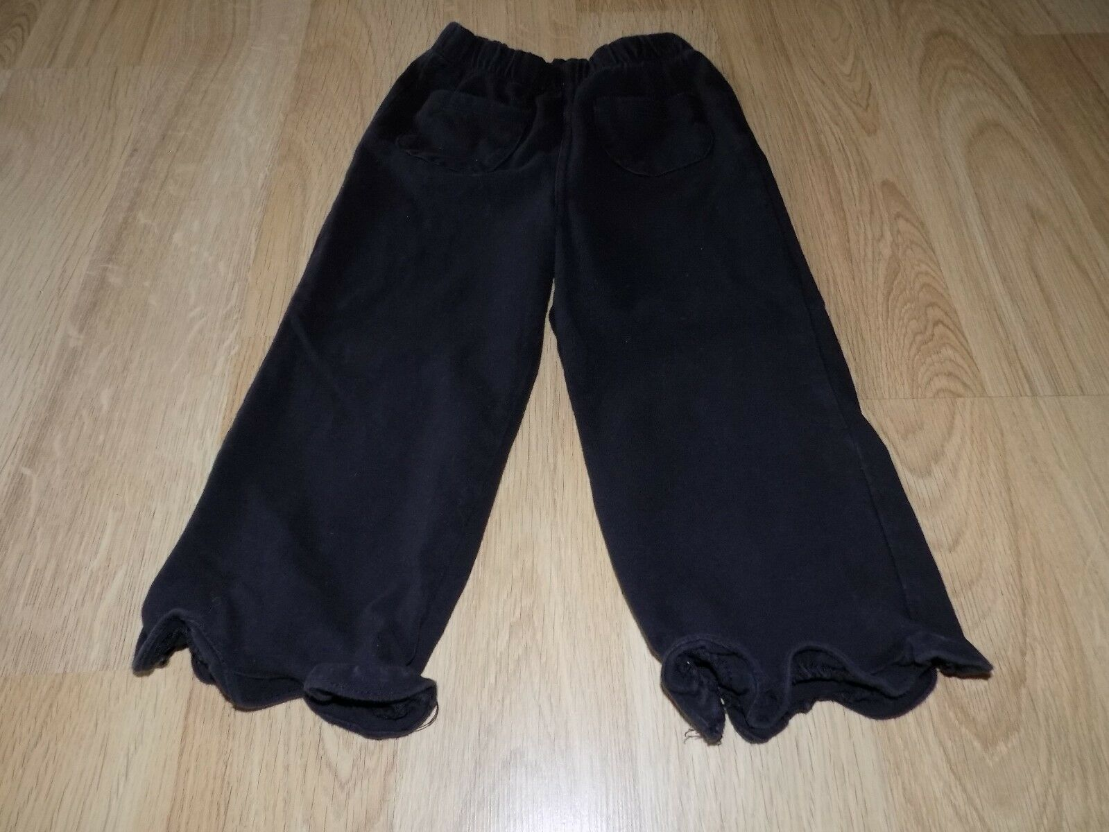 Primary image for Baby Girls Size 24 Months Faded Glory Solid Black Comfy Casual Lounge Pants GUC