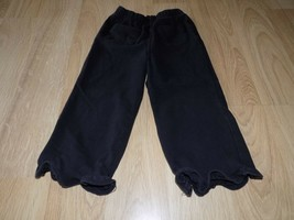 Baby Girls Size 24 Months Faded Glory Solid Black Comfy Casual Lounge Pa... - $9.00